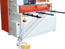 HG-460B Hydraulic NC Guillotine 1300 x 6mm Mild Steel Shearing Capacity 1-Axis Ezy-Set NC-89 Control - picture2' - Click to enlarge