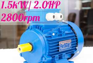 1.5kw/2.0HP 2800rpm 24mm shaft  motor Three-phase