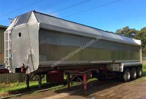 1997 TEFCO 36' X 5' TOA FEED TRAILER