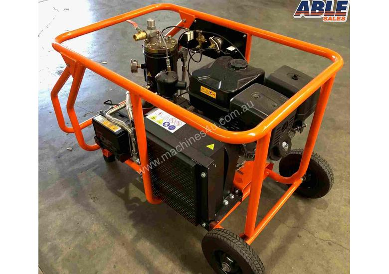 Petrol Screw Compressor 15HP 35CFM 145PSI