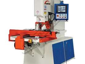 PM-80LT-CNC CNC Punching Machine 80 Tonne Includes CNC Programmable Positioning Table 1000 x 500mm - picture0' - Click to enlarge