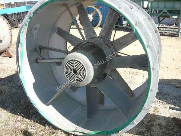 Industrial Axial Fans : Used woods industrial mm electric axial fan