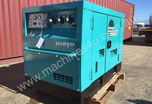 Denyo Air Screw Compressor 130 CFM - Made in Japan