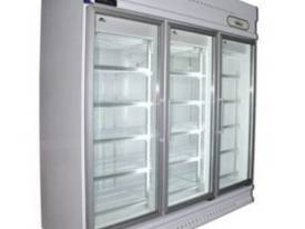 GDJ1880 Three Glass Door Upright Display Fridge