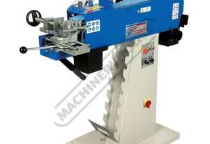 PN-2001 Pipe & Tube Notcher - Linisher Triple Station: Notcher, De-burring & Flat Sanding Ø20 - 76m