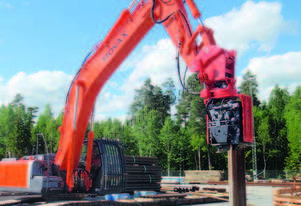MOVAX ML-30 EXCAVATOR MOUNT PILE DRIVER (13-16T)