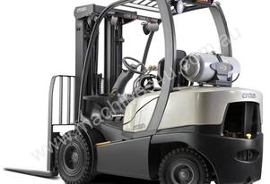 Crown Counterbalance LPG Forklift C-5 Series  Warranty and Crown Services included
