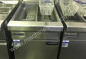 Waldorf Twin Pan Gas Fryer FN8226G