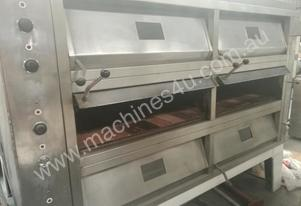 MEC secondhand 3 deck electric oven