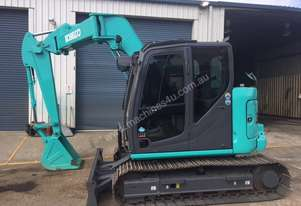 8 TON KOBELCO EXCAVATOR FOR SALE! Great machine!