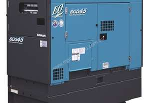 Airman SDG45S-7A8N 37 kVA Diesel Backup Power Generator, Bunded Tank