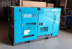 Airman SDG45S-7A8N 37 kVA Prime Power Diesel Generator with Extended 325L Tank