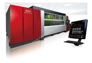 Mitsubishi ML-3015eX F80 Plus. Precision Fiber Laser with next generation D-Cubes controller