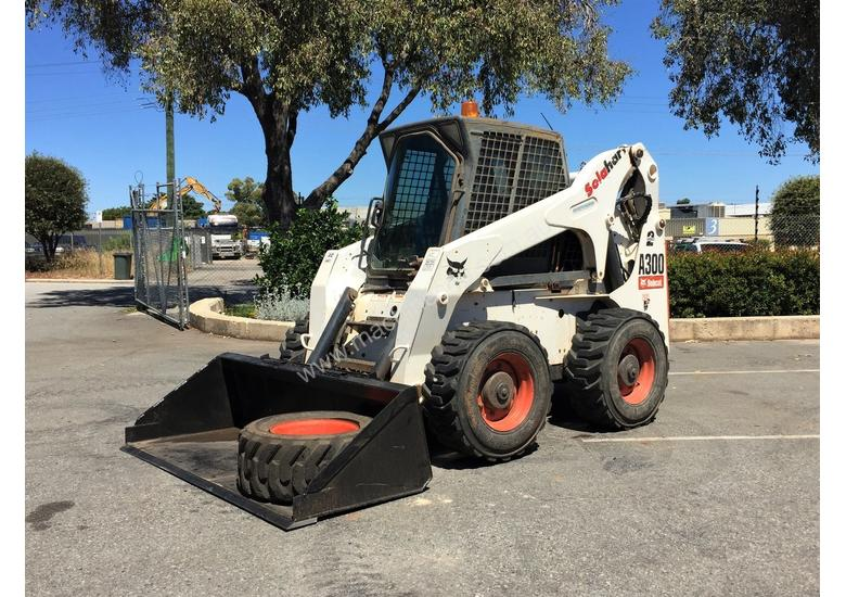 Used Bobcat A300 Wheeled Skidsteers In Welshpool Wa Price 45000