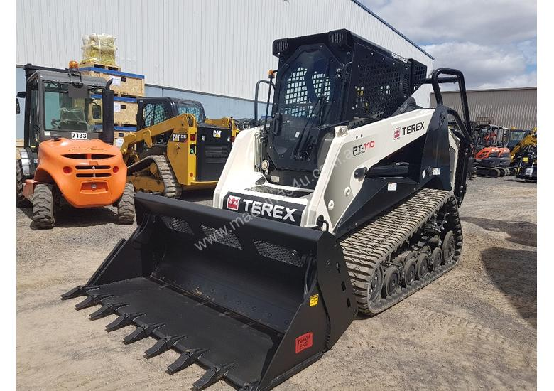 TEREX PT110G FORESTRY SKID STEER WITH ALL OPTIONS
