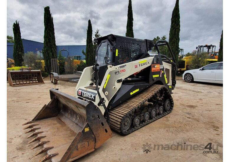 TEREX PT110G FORESTRY SKID STEER WITH LOW 633 HOURS AND  ALL OPTIONS