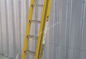 Extension Ladder Branach Fiberglass 3.9mtr Industrial meets Australian Standards