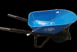 TMP LONG HANDLE STEEL TRAY F/F WIDE WHEEL BARROW
