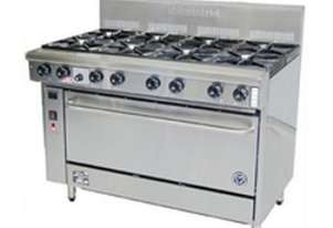 Goldstein Fan Forced 8 Burner Oven