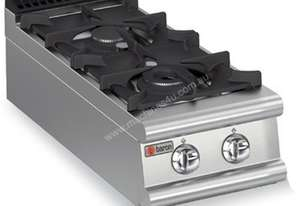 Baron 7PC/G4005 Two Burner Bench Model Gas Cook Top