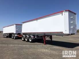 2013 Gippsland Body Builders Tri/A Road Train Combination Tipping Trailer - picture0' - Click to enlarge