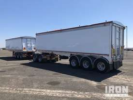 2013 Gippsland Body Builders Tri/A Road Train Combination Tipping Trailer - picture2' - Click to enlarge
