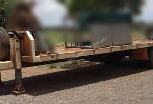 Tag Plant Trailer, 20ft Deck. EMUS NQ