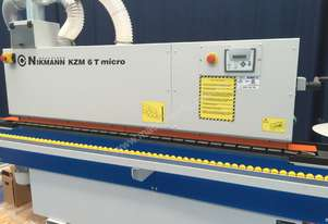 Single phase NikMann KZM6-Micro-v36  Edgebander 100% Made in Europe