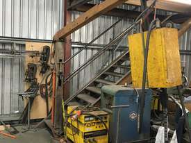 WIA Weldmatic Fabricator with crane arm trolley - picture0' - Click to enlarge