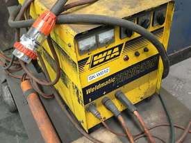 WIA Weldmatic Fabricator with crane arm trolley - picture1' - Click to enlarge