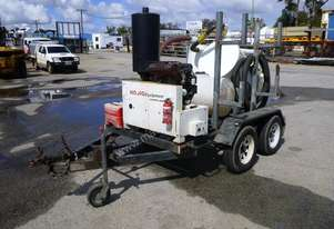 2013 John Papas Tandem Axle Trailer with VM450 Trailer Mounted Vacuum Excavator IN AUCTION