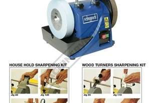 TiGer 2000S PACKAGE Wetstone Grinder + Wood Turners & Household Kits Package Deal Ø200 x 40mm K 220