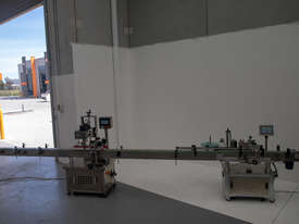 Automatic Capping/Labelling System (Near New Condition!) - picture2' - Click to enlarge