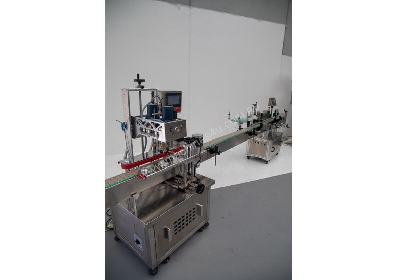 Automatic Capping/Labelling System (Near New Condition!)