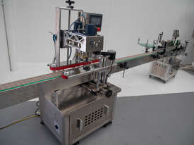 Automatic Capping/Labelling System (Near New Condition!) - picture7' - Click to enlarge