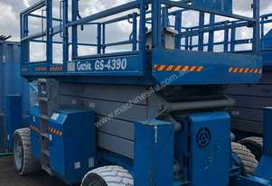 Used Genie 43ft Diesel Scissor Lift 4WD
