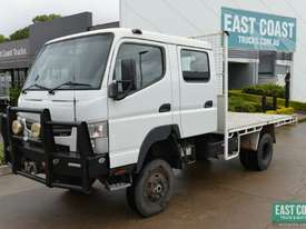 2013 MITSUBISHI CANTER FG 4x4 Dual Cab Tray Top - picture0' - Click to enlarge