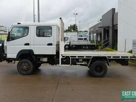 2013 MITSUBISHI CANTER FG 4x4 Dual Cab Tray Top - picture1' - Click to enlarge