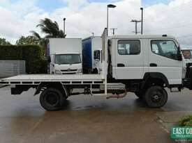 2013 MITSUBISHI CANTER FG 4x4 Dual Cab Tray Top - picture5' - Click to enlarge