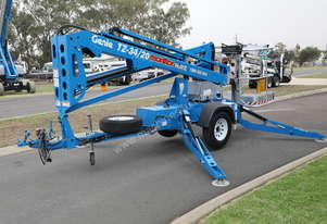 Genie TZ-34/20 - 34' Trailer Mounted Cherry Picker