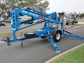 Genie TZ-34/20 - 34' Trailer Mounted Cherry Picker - picture0' - Click to enlarge