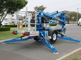 Genie TZ-34/20 - 34' Trailer Mounted Cherry Picker - picture1' - Click to enlarge