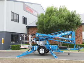 Genie TZ-34/20 - 34' Trailer Mounted Cherry Picker - picture2' - Click to enlarge
