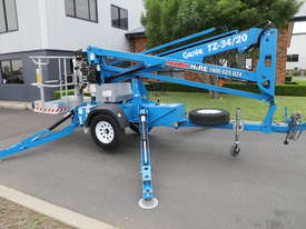 Genie TZ-34/20 - 34' Trailer Mounted Cherry Picker - picture3' - Click to enlarge
