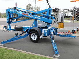 Genie TZ-34/20 - 34' Trailer Mounted Cherry Picker - picture4' - Click to enlarge