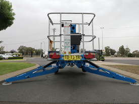 Genie TZ-34/20 - 34' Trailer Mounted Cherry Picker - picture5' - Click to enlarge