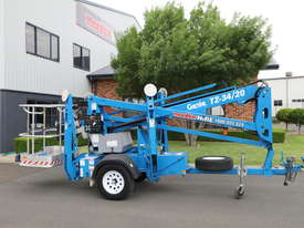Genie TZ-34/20 - 34' Trailer Mounted Cherry Picker - picture12' - Click to enlarge