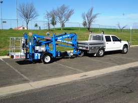 Genie TZ-34/20 - 34' Trailer Mounted Cherry Picker - picture14' - Click to enlarge