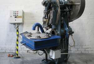 15 Ton Open Front Rotating Index Table Press - John Heine 64A