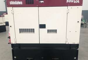 Diesel Generators - Shindaiwa  50kVA On Special (Price Negotiable)